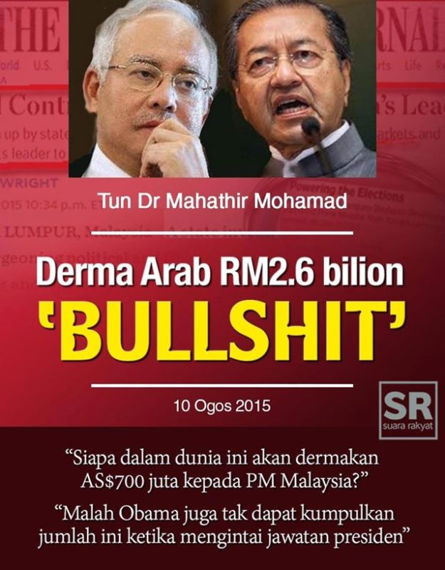 RM2.6 Billion: It's the DAP & the Jews, Damn It!!!